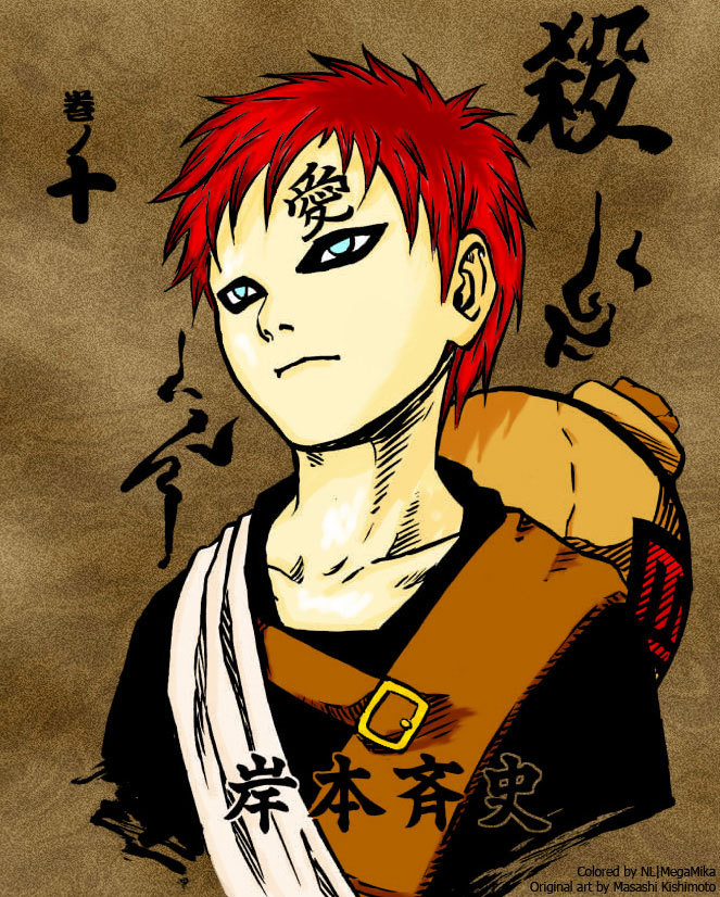 gaara naruto - photo #27