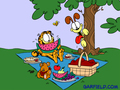 Garfield´s Picnic Wallpaper