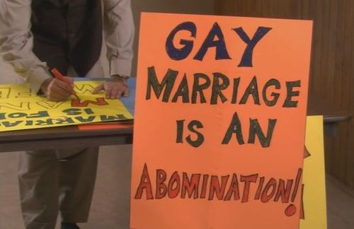 gay marriage is an abomination