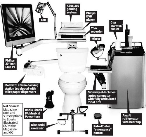 Geek Toilet - geeks Photo