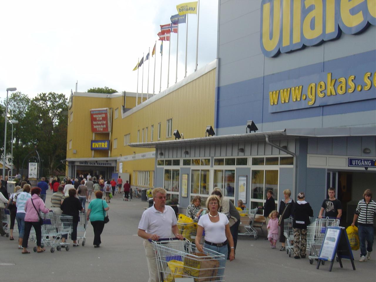Gekas Ullared - Halland