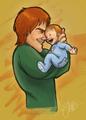 George Weasley post-DH