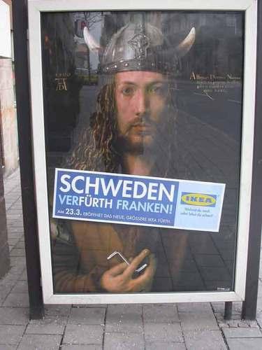German IKEA Poster