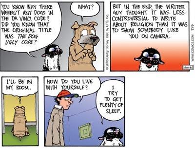 Get fuzzy comic strip