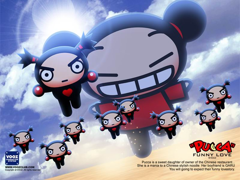 Giant Pucca Wallpaper