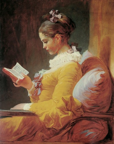 Books to Read wallpaper entitled Girl Reading