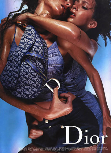 Gisele & Rhea Durham Ads - dior Photo