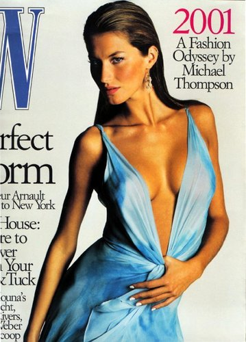 Gisele Bundchen Magazine Cover