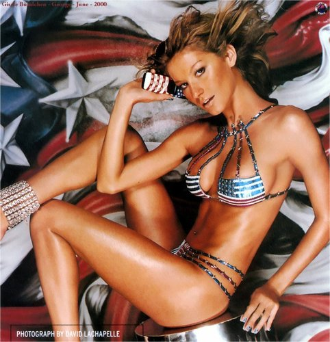 Gisele Bundchen Swimwear Ads