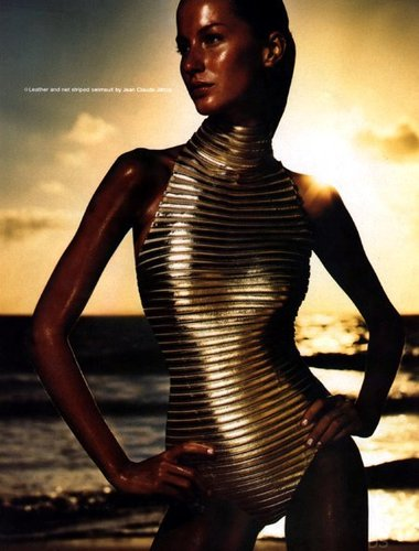 Gisele Bundchen Swimwear Ads