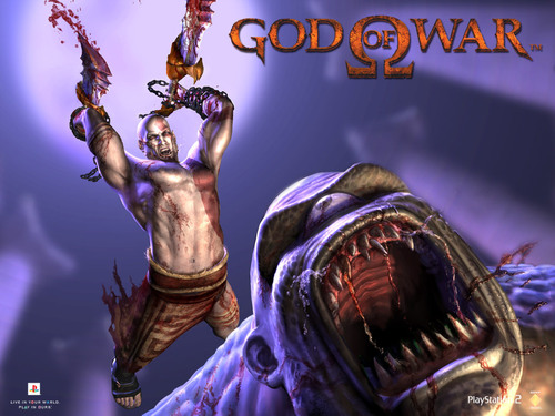 wallpaper god of war. Wallpaper Of God: God of War
