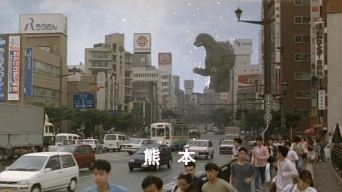 Godzilla goes to town