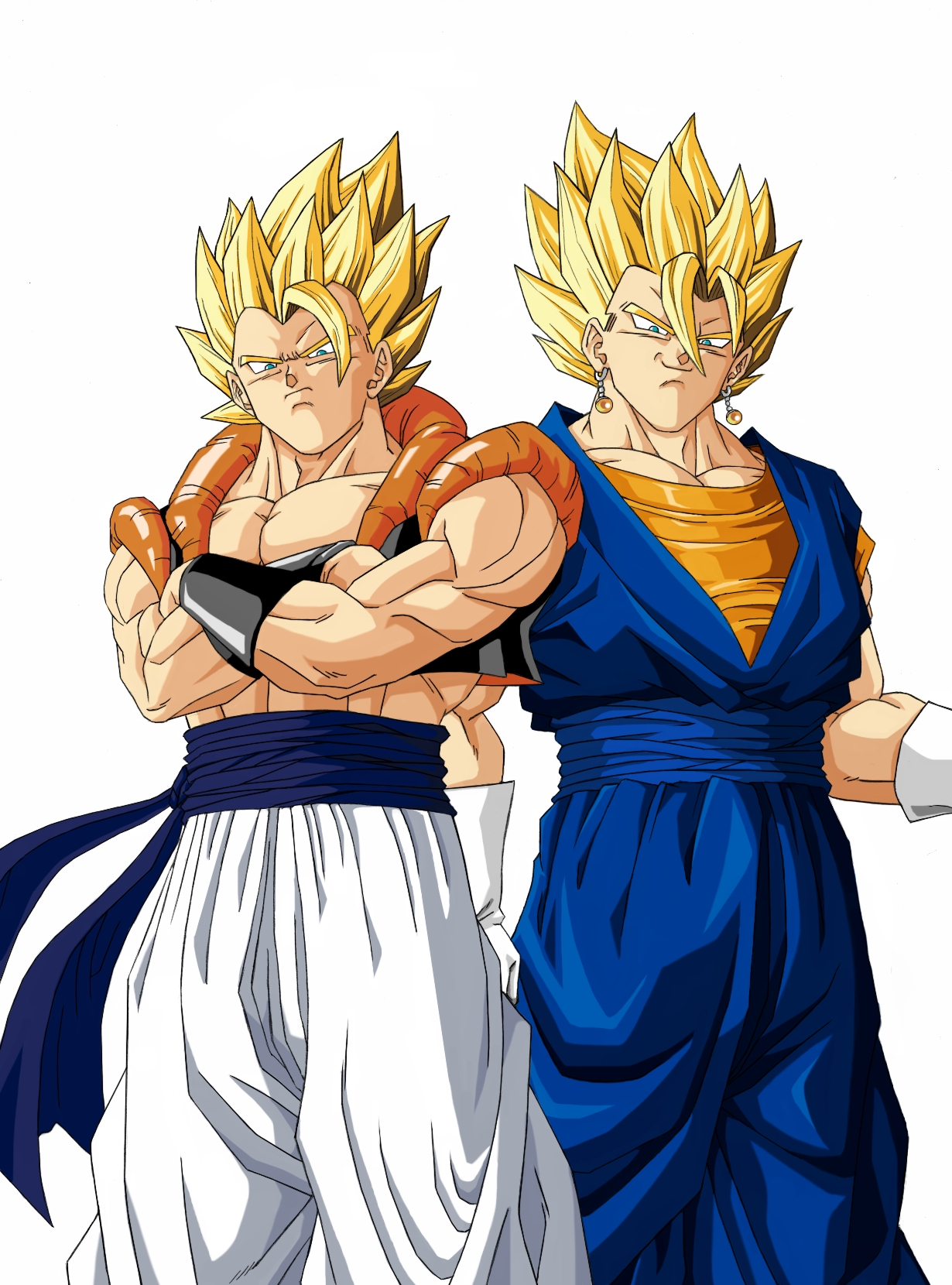 Gogeta and Vegito - Dragon Ball Z Photo (70249) - Fanpop