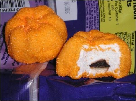 Gooey pumpkin, boga Peeps