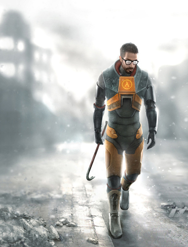 Half Life wallpaper called Gordon F