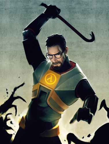 Half Life wallpaper called Gordon Freeman