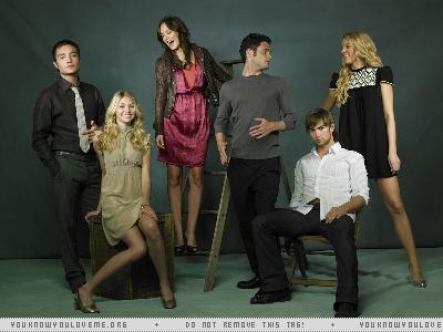 Gossip Girl Cast Photoshoot