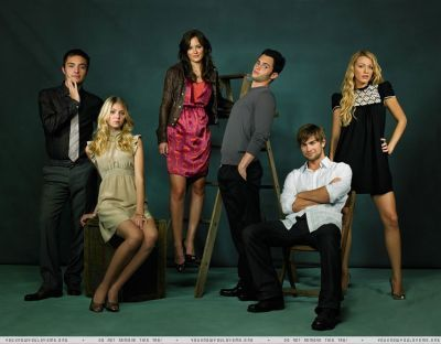 Gossip Girl Cast Photoshoot