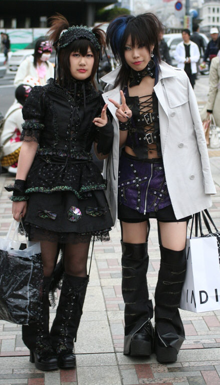 goth lolita: