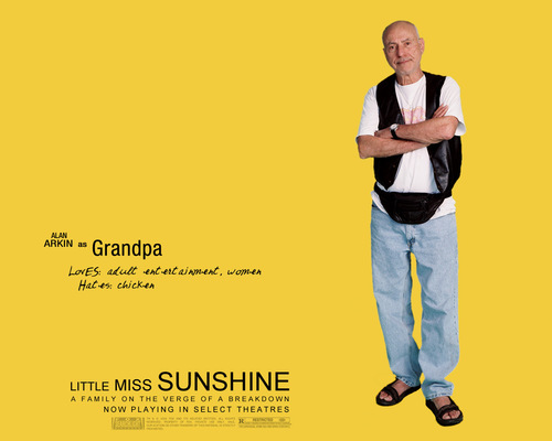 Little Miss Sunshine wallpaper entitled Grandpa