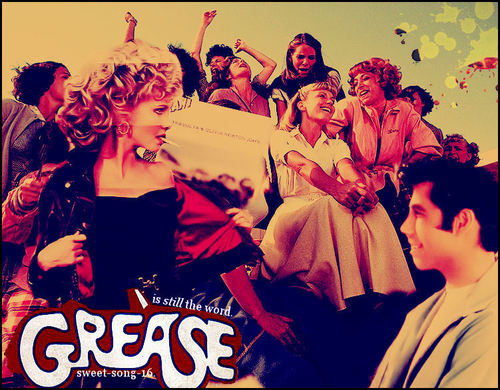 Grease The Movie Wallpaper Called Blend