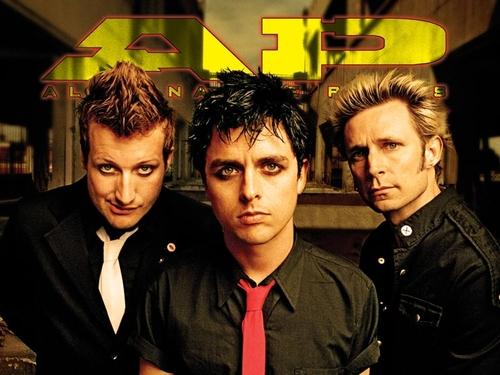 Green Day AP Wallpaper