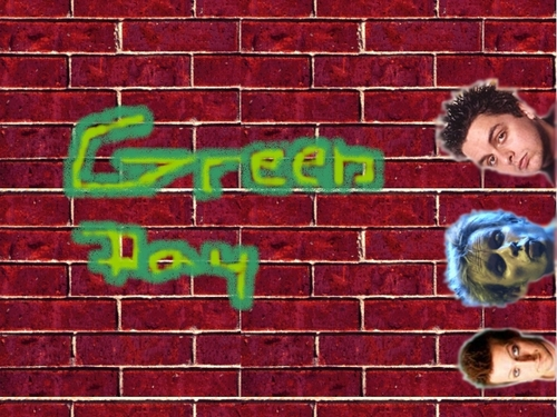 Green día fan Art WP