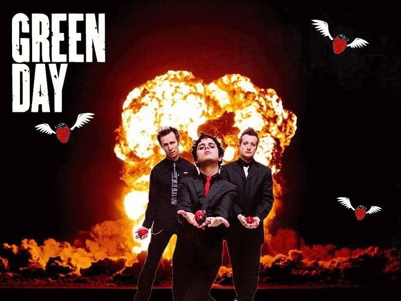 green day wallpapers. Green Day Wallpaper