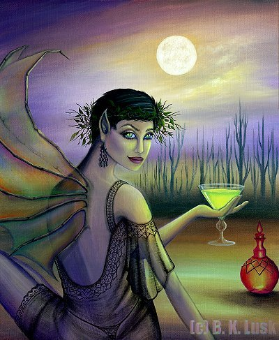 Green Fairy - absinthe Fan Art