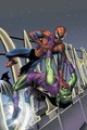 Green Goblin vs. Spidey 1 - spider-man-villains fan art