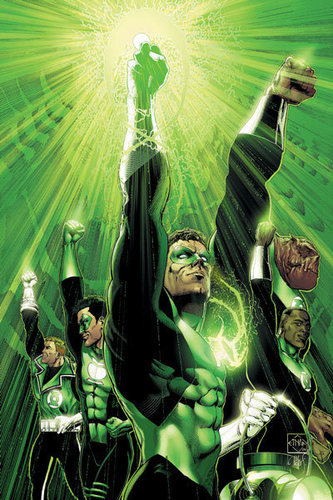 Green lanterns light