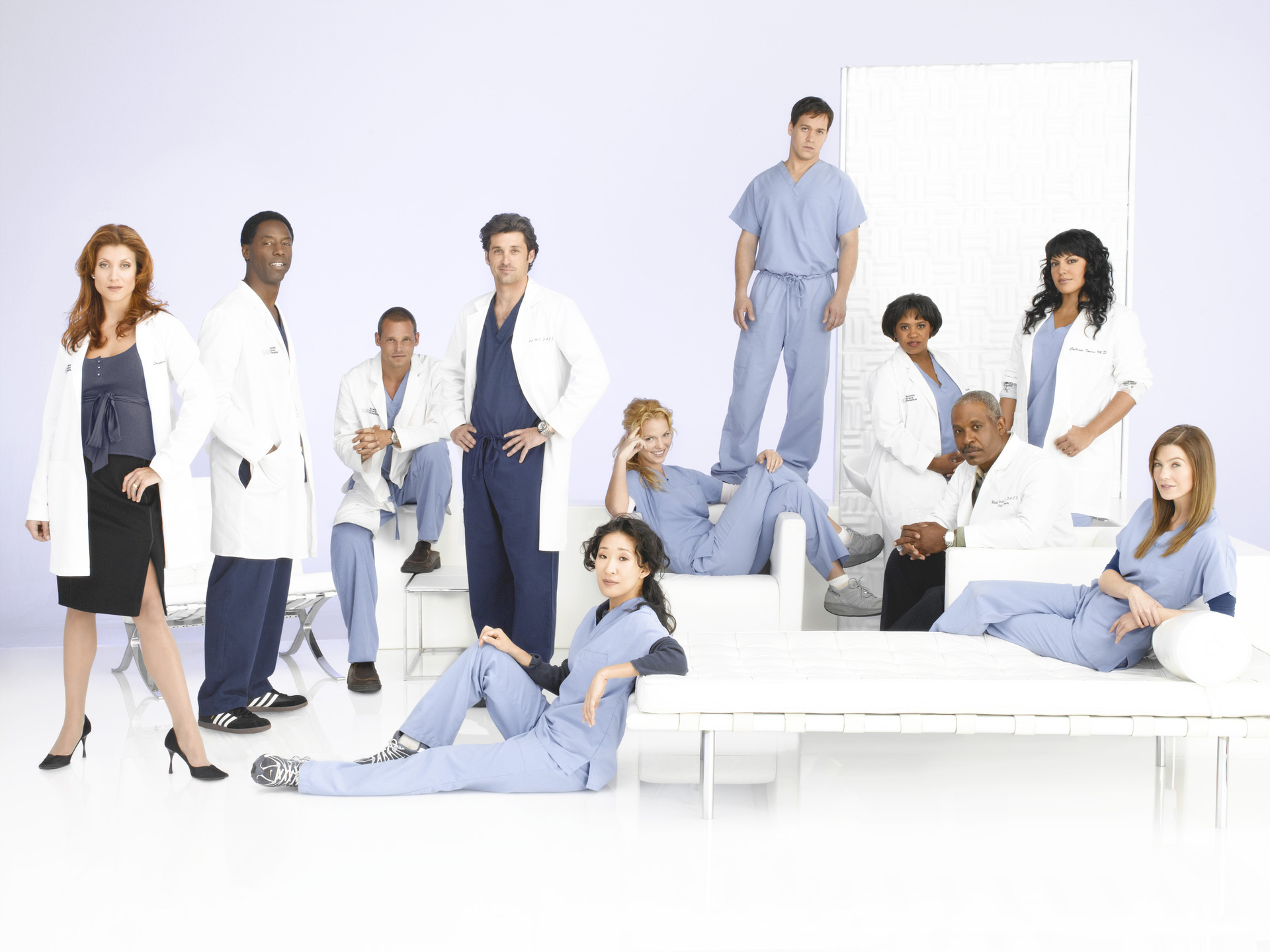 Grey's Anatomy Cast - Grey's Anatomy Wallpaper (67684) - Fanpop