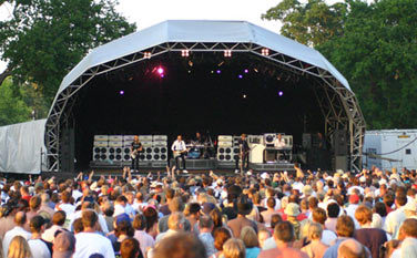 Guilfest main stage