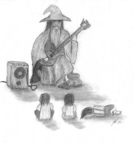 violão, guitarra Drawings