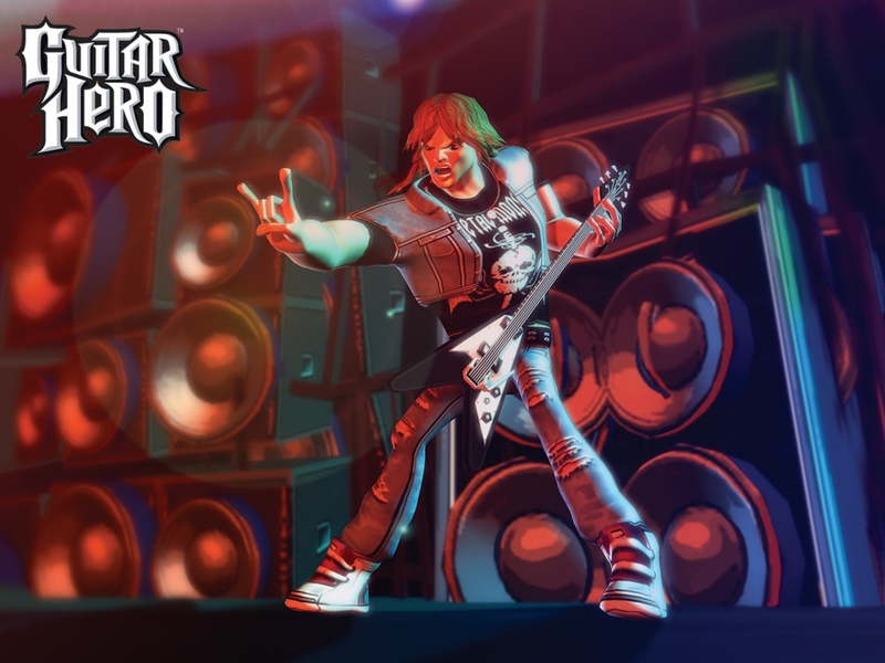 wallpaper guitar hero. Guitar Hero