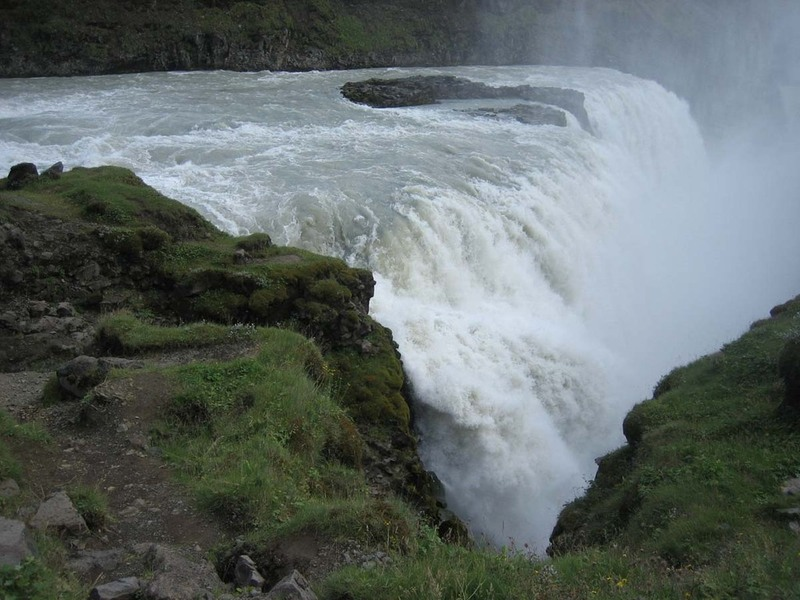 iceland wallpaper. Gullfoss - Iceland Wallpaper (623746) - Fanpop