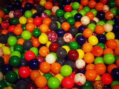 Chewing Gum wallpaper titled Gumballs!