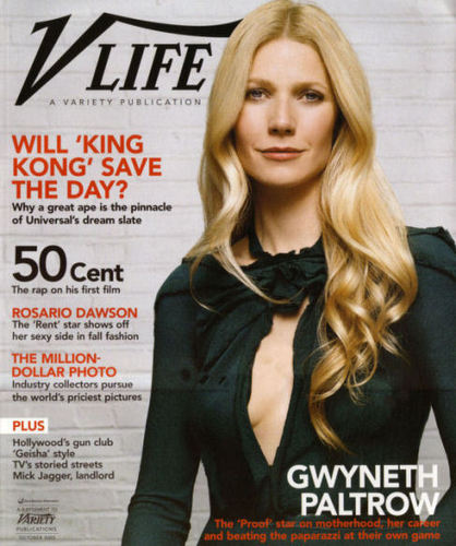 V Life Magazine Cover Oct 2005