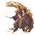 HP Fan Art - The Trio