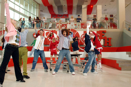 High School Musical fond d'écran entitled HSM1
