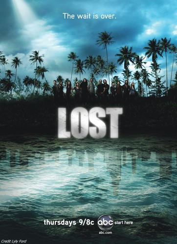 HUGE Lost Season 4 poster