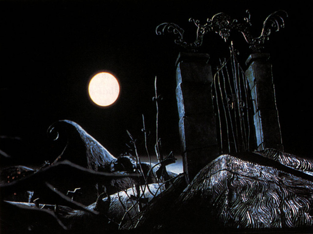 nightmare before christmas images halloween town wallpaper and background photos - Halloweentown Nightmare Before Christmas