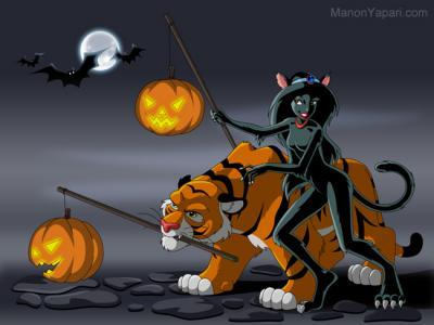 Jasmine fanarts Halloween-jasmine-classic-disney-626268_400_300