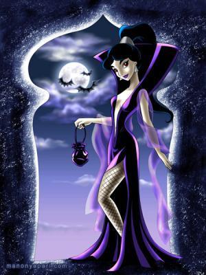 Halloween melati, jasmine