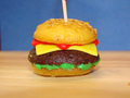 Hamburger - cupcakes photo