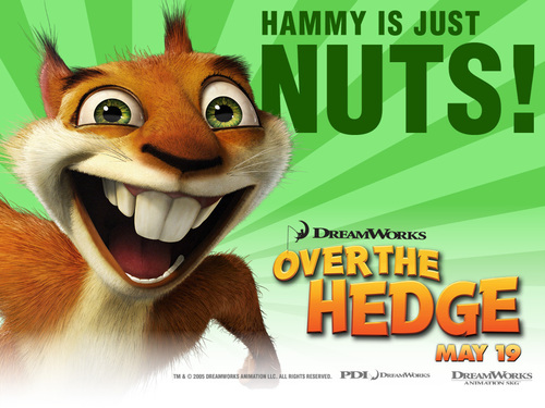 Over the Hedge Hintergrund titled Hammy