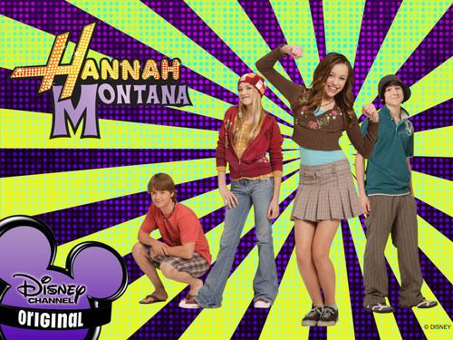 Hannah Montana karatasi la kupamba ukuta