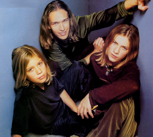 The 90s wallpaper titled Hanson