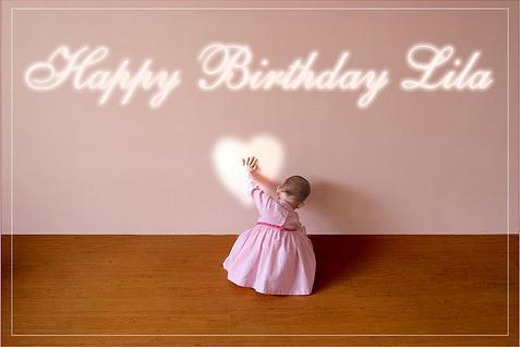 Happy Birthday Lila!