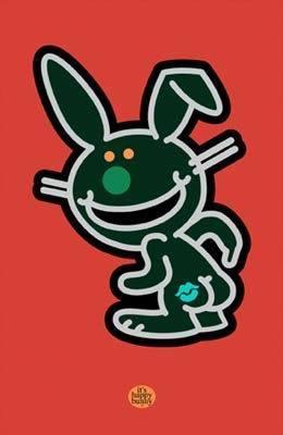 Happy Bunny 키스 Negetive